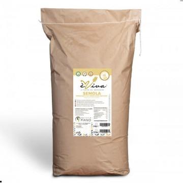 Semola rimacinata di grani duri antichi con germe di grano vivo 25 Kg
