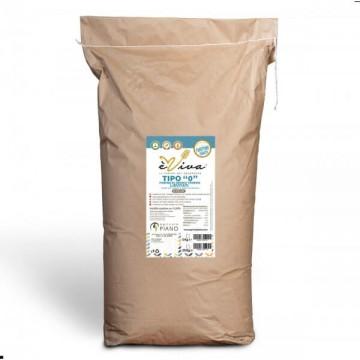 Farina di grano tenero tipo 0 lievitati con germe di grano vivo 25 Kg