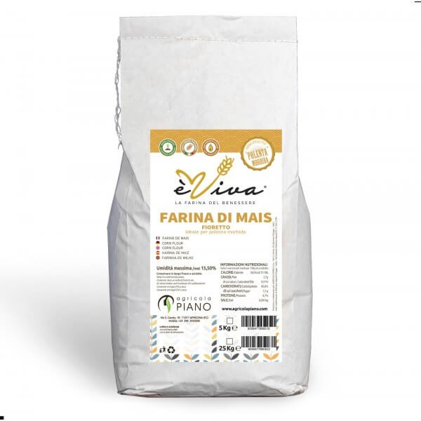 Farina di mais con germe di mais vivo 5 Kg